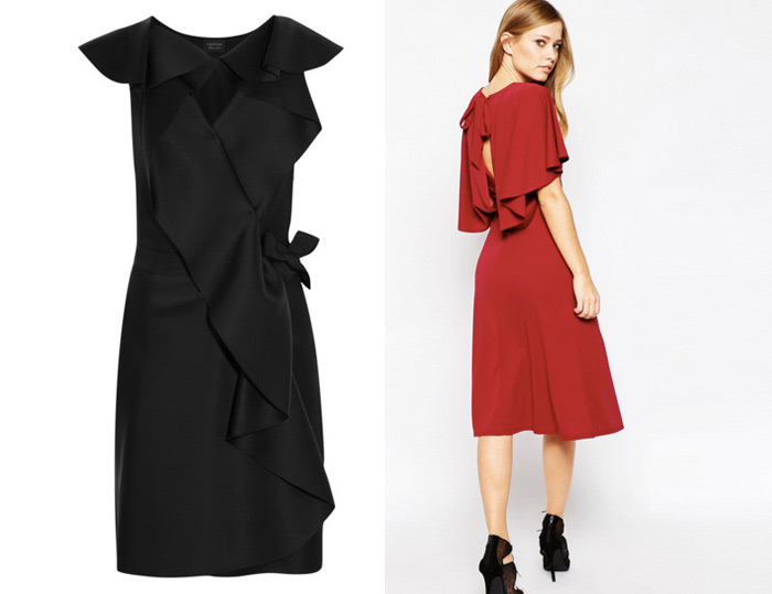 Midi dresses to wear to work, dresses pinterest style inspirations