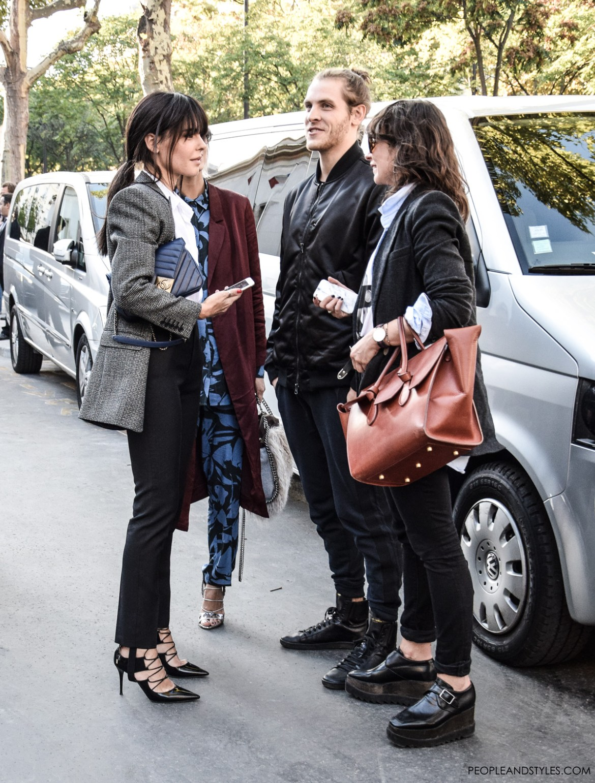 What to wear to work, what people in fashion wear to work, Natasha Goldenberg, Evangelie Smyrniotaki, Irina Lakicevic