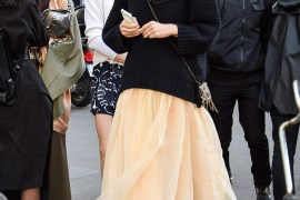 Style Idea: Sweater and Tulle Skirt Make a Stylish Pair!