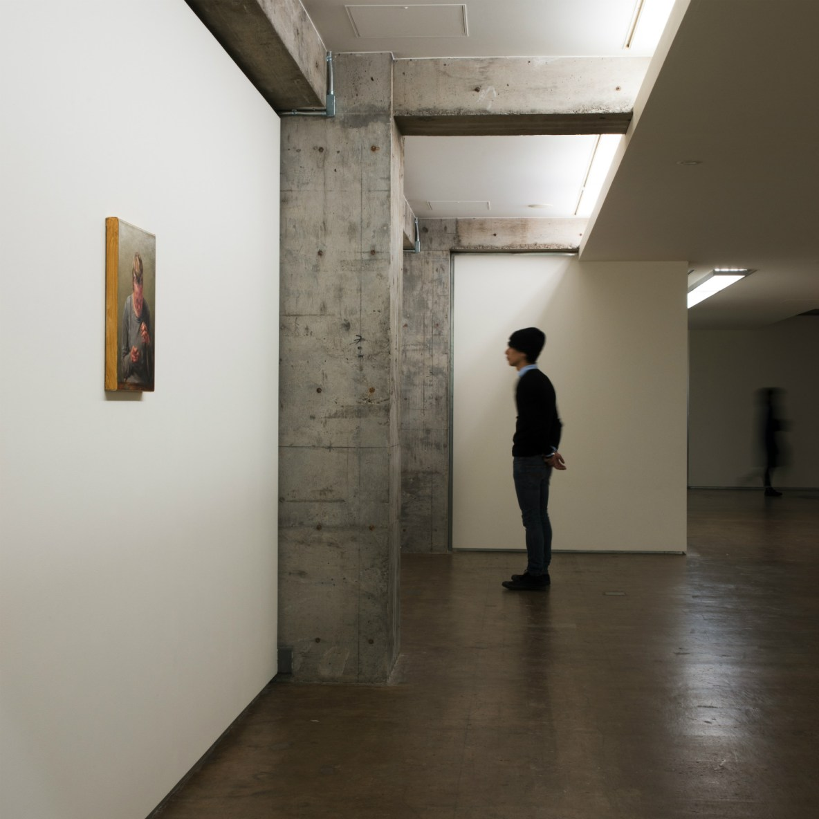 Deceptively unassuming space driven by artistic passions