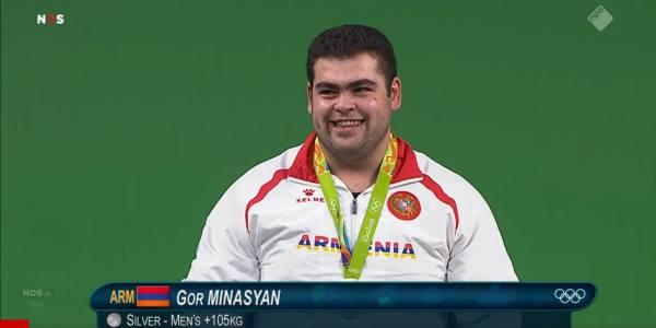 Gor Minasyan – Olympics 2016