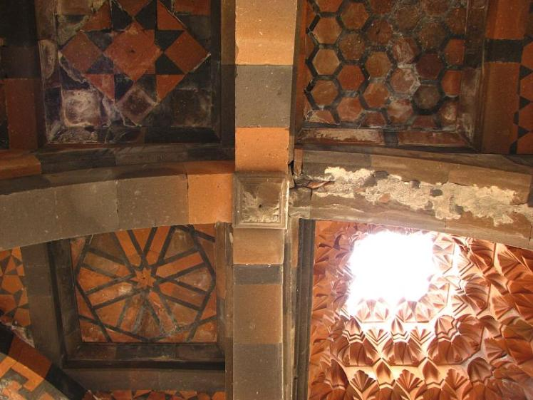 Ceiling of Armenian church in Ani