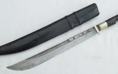 A nice 19th century Armenian Bichaq dagger with scabbard
