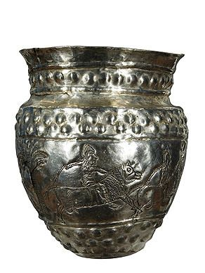 Ancient Armenian silver Goblet (7th-6th century BC)