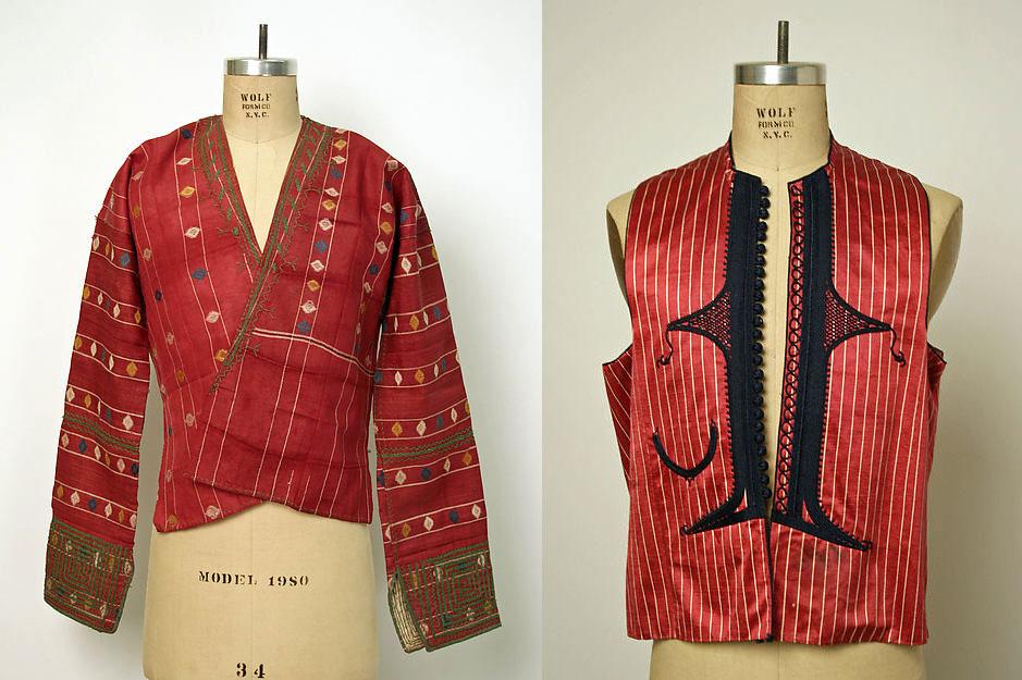 Armenian garment, late 19th century, linen, wool, cotton. - Metropolitan Museum of Art