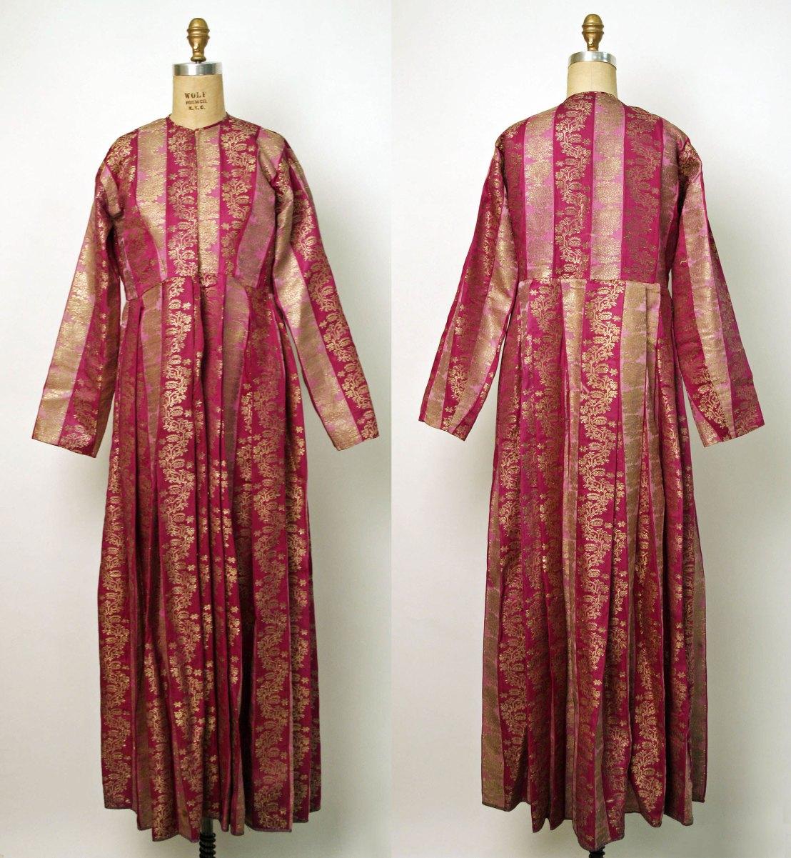 Armenian garment, late 19th century, silk and metal - Metropolitan Museum of Art