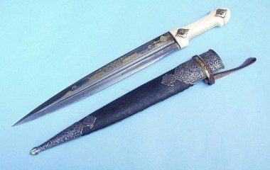 Armenian dagger dated-1841