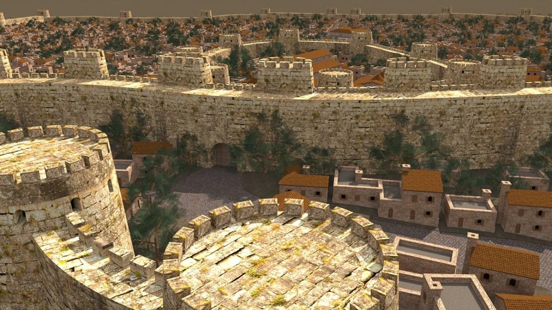 Dvin city 3D reconstruction6