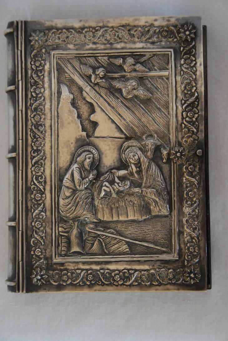The Armenian Four Gospels, printed in Jerusalem in 1868.