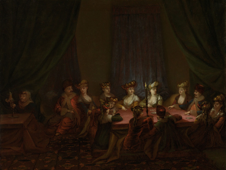 Party-of-Armenians-Playing-Cards,-Jean-Baptiste-Vanmour