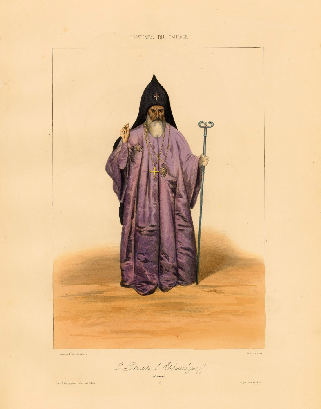 Patriarch of Armenia by Grigory Gagarin, 1850-1855
