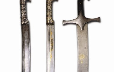 Sabre and Shashka swards made by the Eliyarov familly, 19th-century