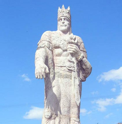 Statue of Tigranes the great, Yerevan