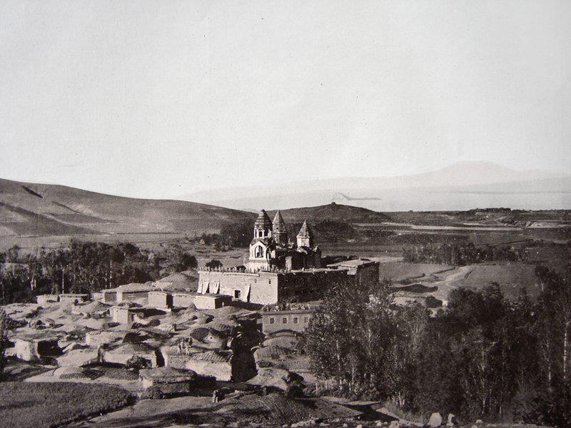 The 10th century Armenian monastery of Narekavank (now destroyed), Lake Van, Vaspurakan (modern Turkey)