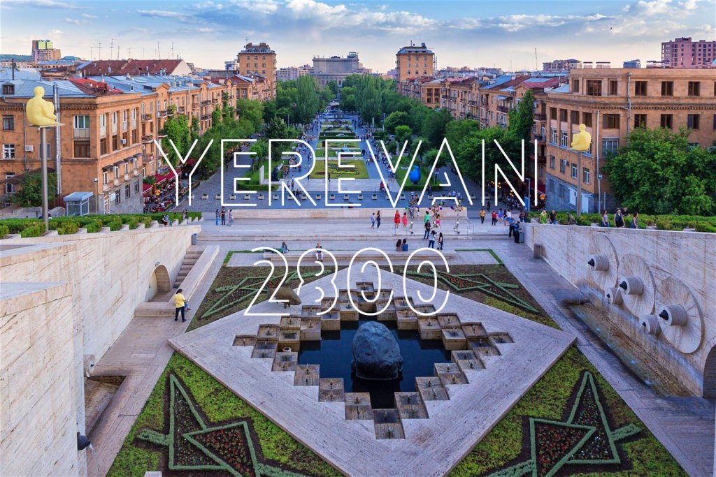 Yerevan turns 2800