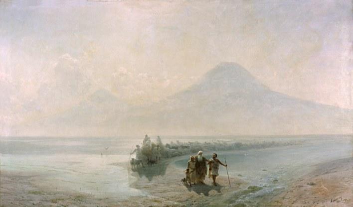 Descent of Noah from Ararat - Aivazovsky