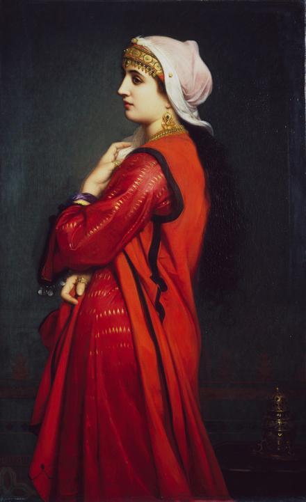 An Armenian Woman  Charles-Landelle (1821-1908)