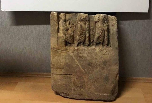 2,000-year-old tombstone of an Armenian king recovered in Turkey