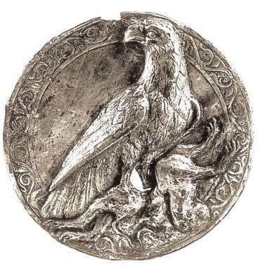 Ancient Armenian medallion silver, 2nd c. BC