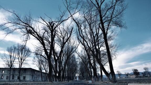 Gyumri winter, Armenia