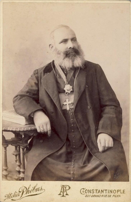 Armenian Bishop 1890, constantinople