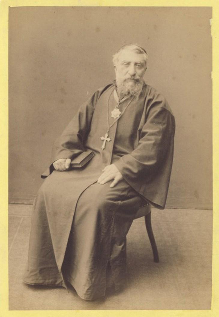 Armenian Bishop Paul Marmarian 1889, bishop of Trebizond