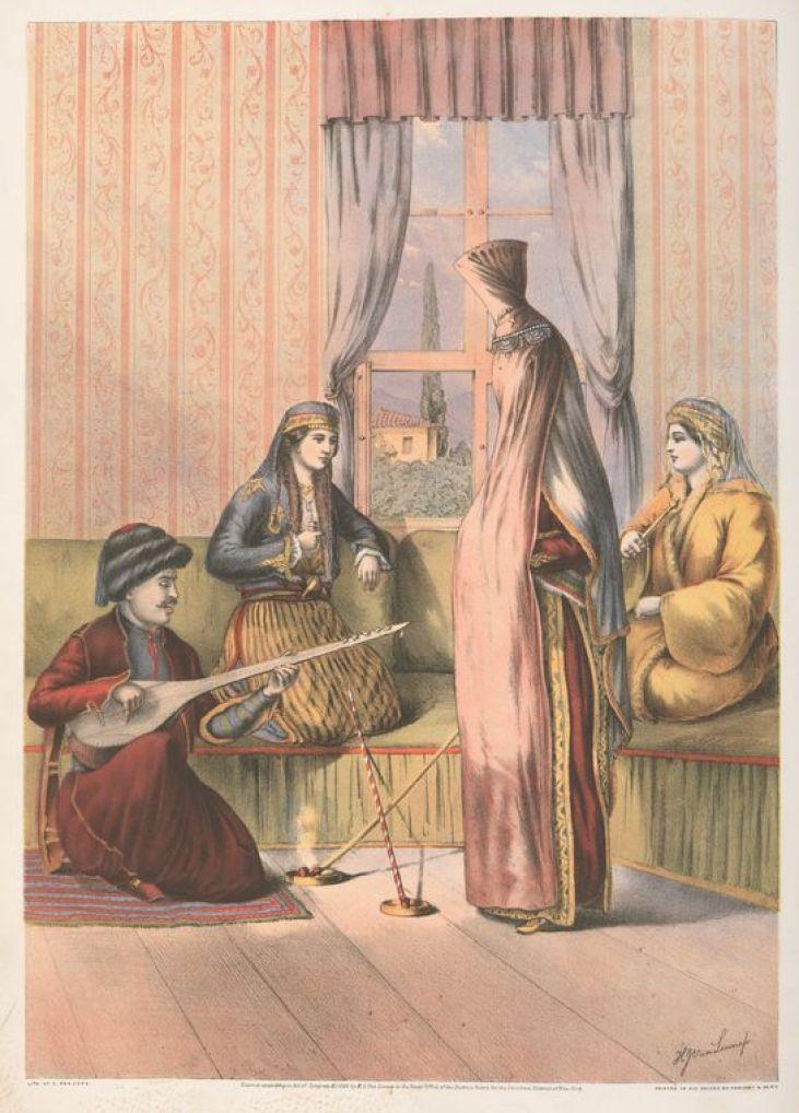 Armenian Bride by Van-Lennep, Henry J. (Henry John), 1815-1889