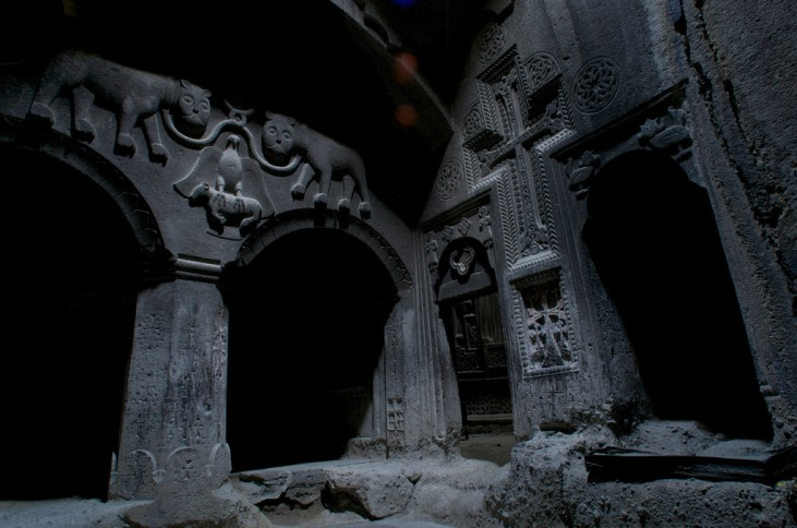 Armenian Cave Monastery