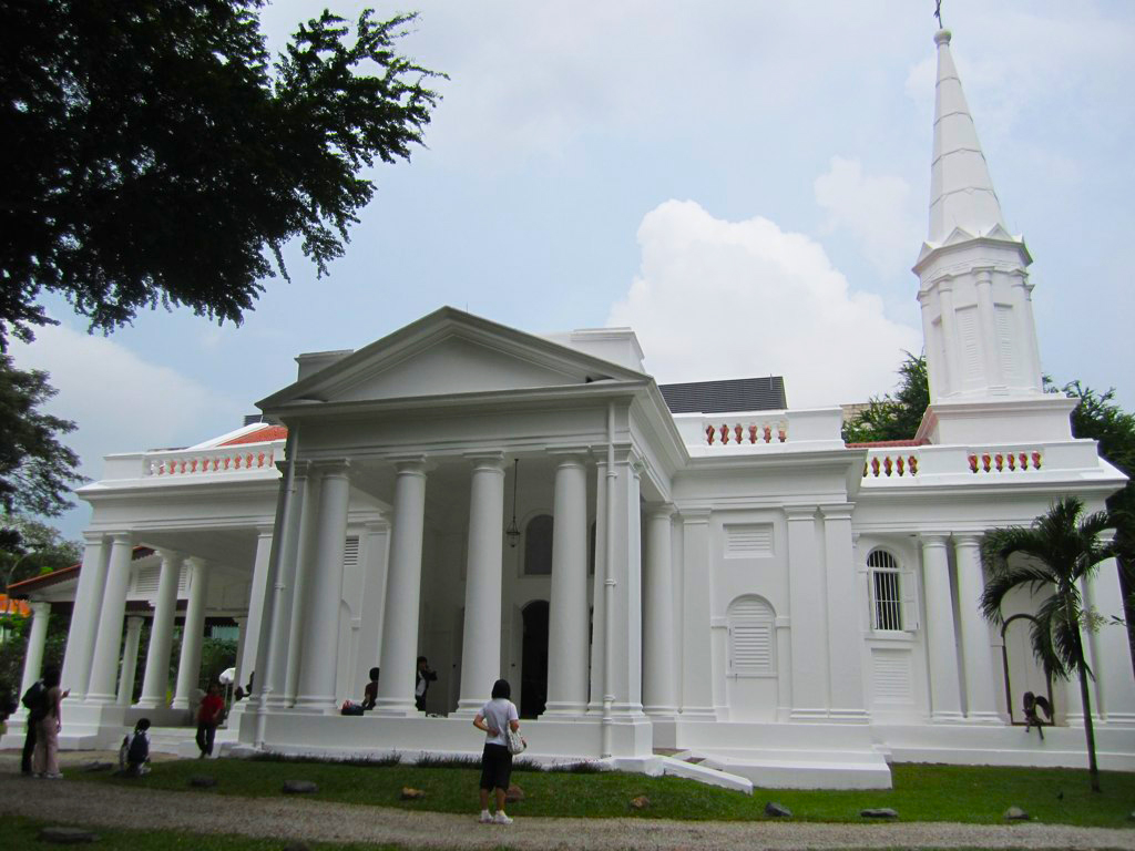 Armenian church of Singapore (1835)