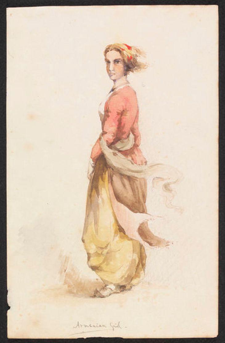 Armenian Girl ca. 1850