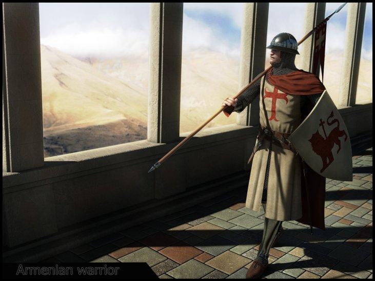 Armenian warrior of Cilicia 1198–1375 AD.