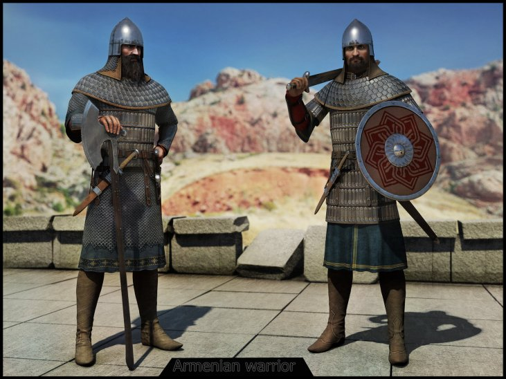 Armenian warriors, 885-1045 AD
