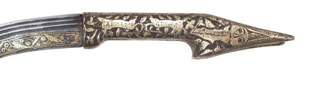 Armenian Yataghan sword hilt - mid 19th c.