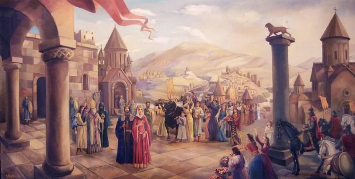 Ashot the Great King of Armenia by Gagik Vava Babayan