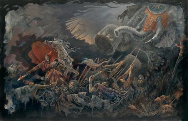 Vartan Mamikonian at the Battle of Avarayr (451 AD)