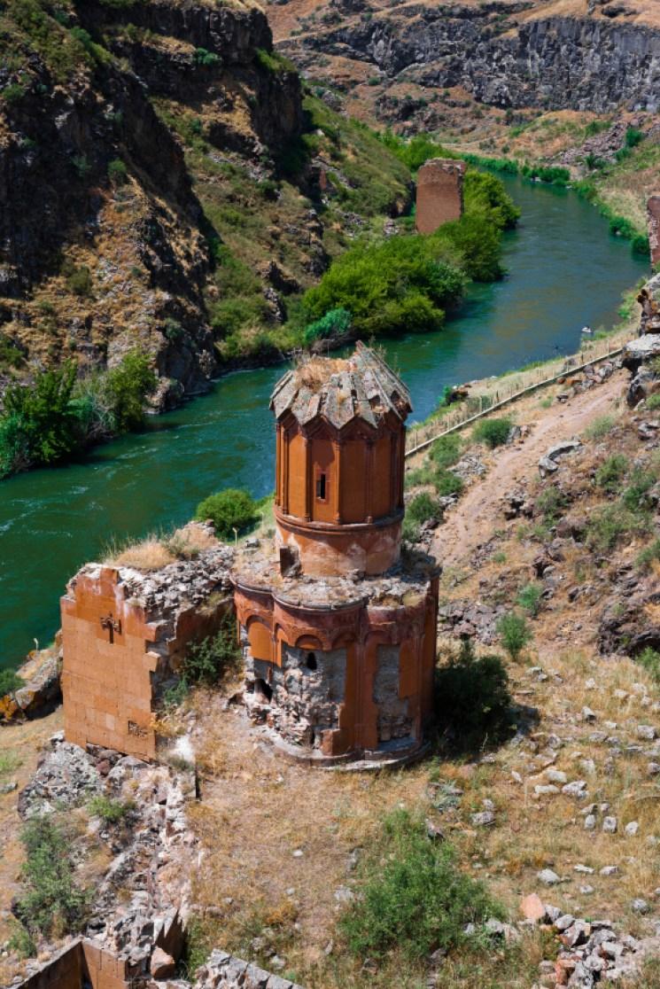 Bridge in Ani ancient Armenia