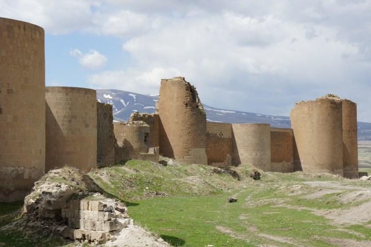 City walls of Ani