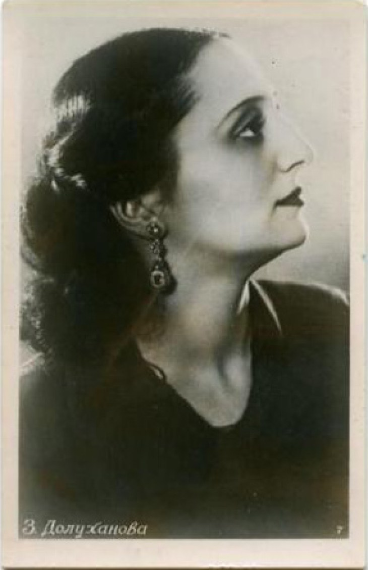 Dolukhanova Armenian opera mezzo-soprano singer