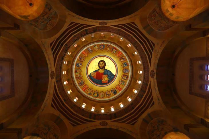 Dome of Abovian Church interior