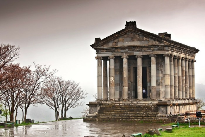 Pagan temple of Garni, Armenia