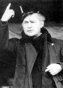 """Gábor Agárdy (born Gábor Arklian) """"actor of the nation"""" (the highest civil rank and honor, an actor can have in Hungary)"""