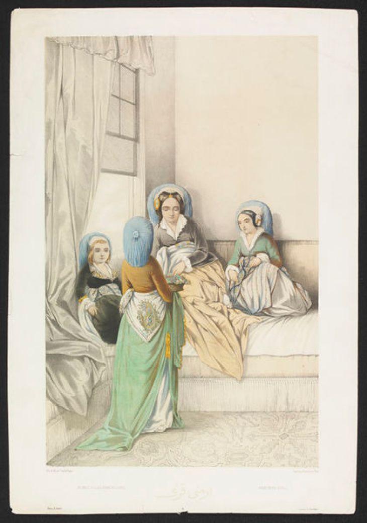 Jeunes Filles Arméniennes by Camille Rogier 1846