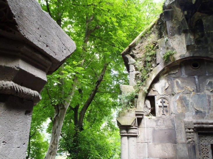 Kobayr Monastery pillar, 12th c. Armenia