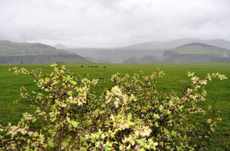 Kurtan gorge from Dsegh Alaverdi, Armenia