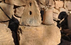 Largest archaeological settlement of Tunceli province was discovered bearing Armenian writing on ancient stones