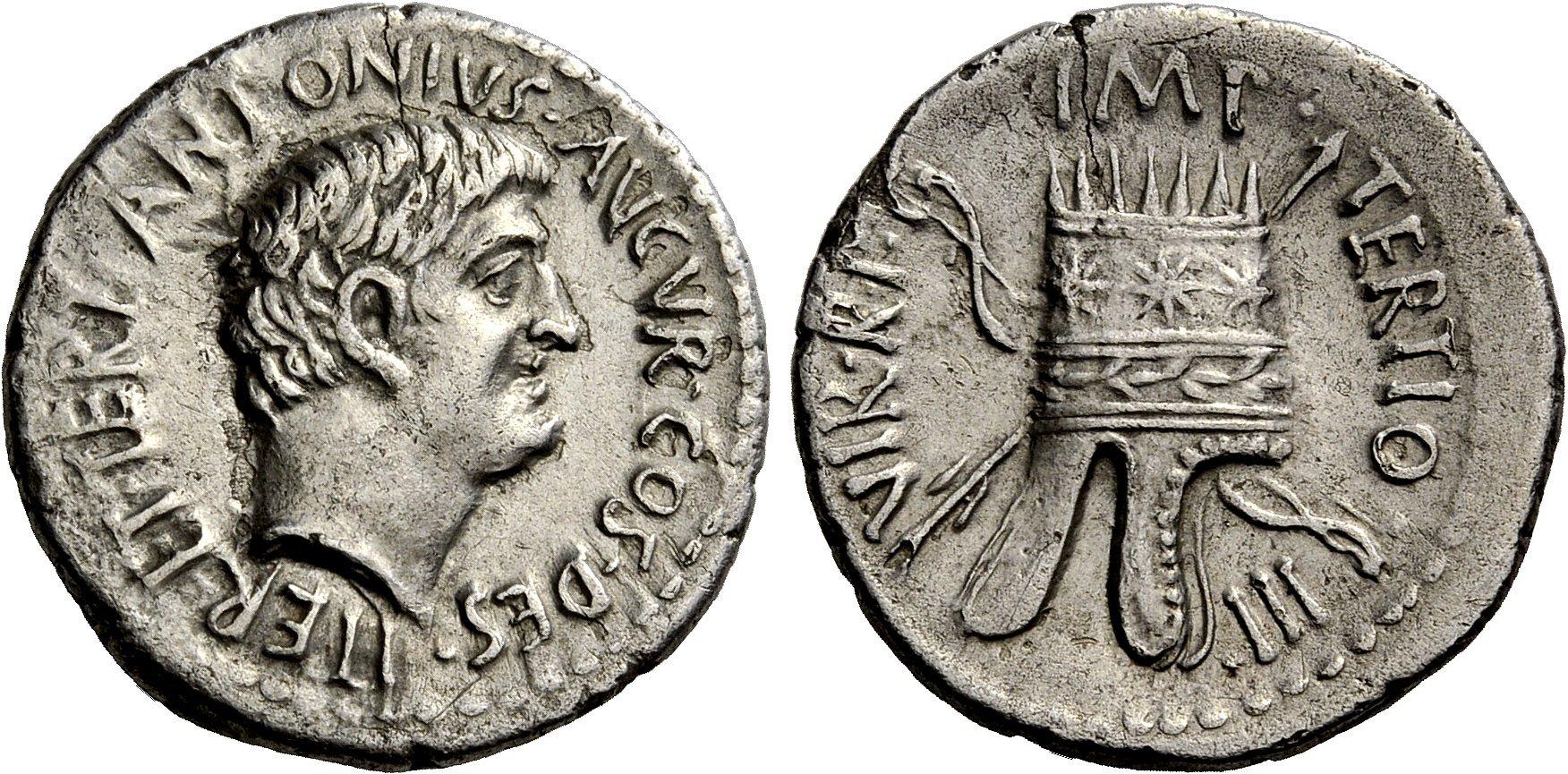 Mark Antony coin