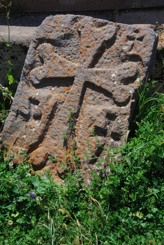 Medieval Armenian cross stone