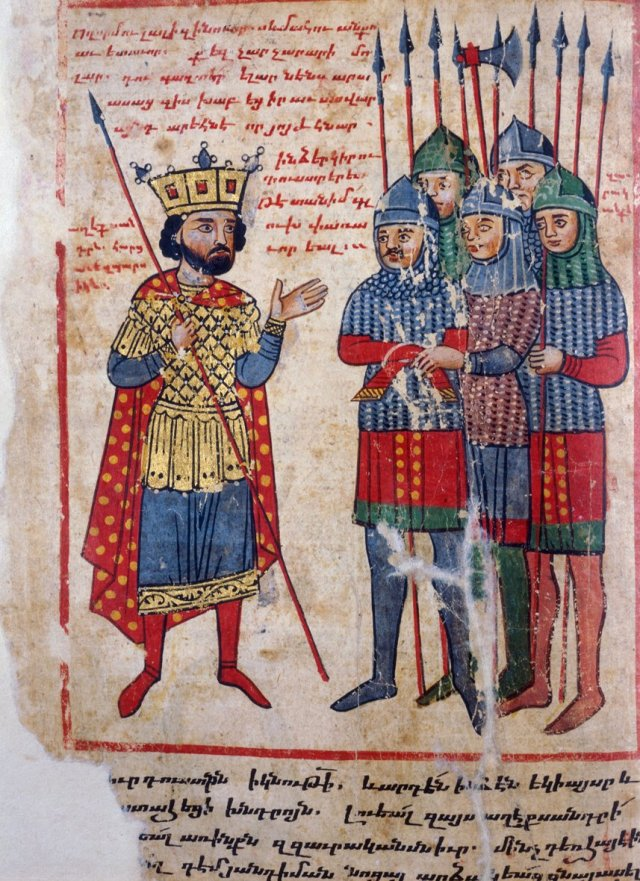 Medieval Armenian manuscript