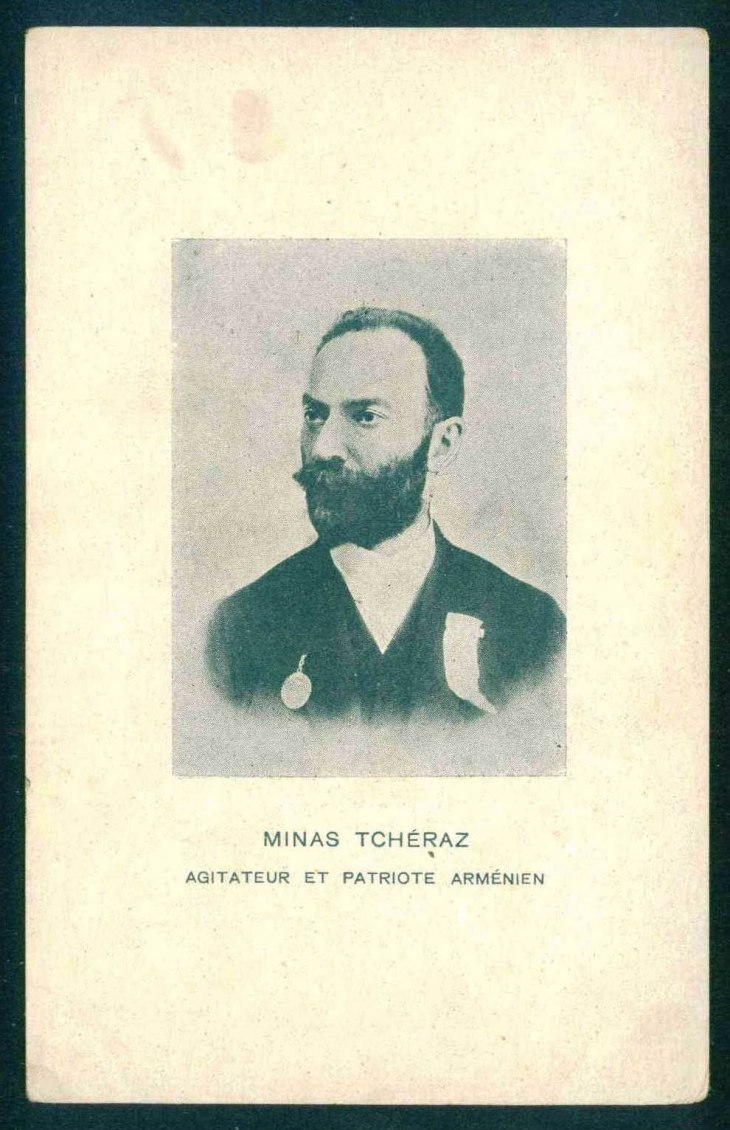Minas Tcheraz, Armenian patriot