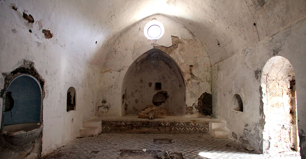 The inside of Sourp Magar (Magaravank 1000 AD)